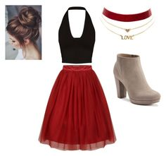 """""""idk"""" by corbeau1 ❤ liked on Polyvore featuring LC Lauren Conrad and Charlotte Russe"""