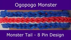 Tutorial how to make the ogopogo monster bracelet using monster tail