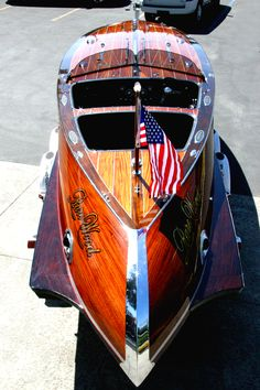 Modern Classic Boat