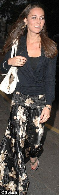 Kate Middleton I love the pants shes wearing :)