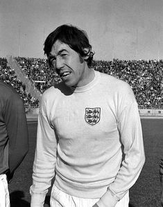England goalkeeper Gordon Banks in