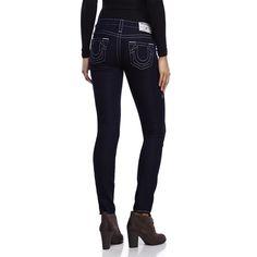 True Religion Naturaline Denim Legging. True Religion Naturaline Jean Legging in Body Rinse. 82% Cotton, 17% Polyester, 1% Spandex. True Religion Jeans Skinny