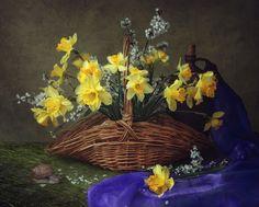 Spring still life with daffodils by Iryna Prykhodzka - Photo 152495197 - 500px