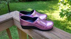 Handpainted and Glittered SANITA Clogs  Preowned  by GlittyCity, $90.00