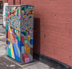 Street Art By Francis Quinn: The BetaProject By Dublin City Council