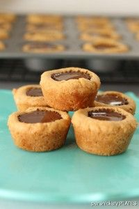Peanut Butter Reese's Cookie Cups by Persnickety Plates