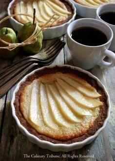 Vegan Pear Tarts