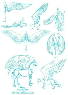Manga Drawing Tips Wings; How to Draw Manga/Anime Drawing Sketches, Cool Drawings, Art Sketches, Sketching, Art Reference Poses, Drawing Reference, Design Reference, Drawing Techniques, Drawing Tips