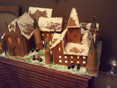 My Harry Potter Gingerbread (2011)  Hogwarts at Christmas