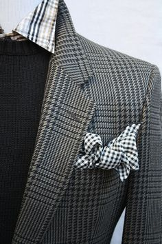 Mens Vintage Perry Ellis Plaid Sportcoat from ViVifyVintage