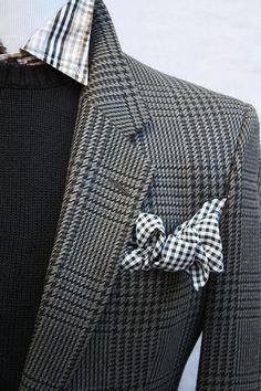 Mens Vintage Perry Ellis Plaid Sportcoat from ViVifyVintage