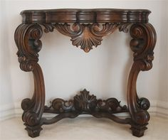 Victorian Entre Wall Table : Featuring this early rosewood wall table.