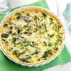 Farm Fresh Quiche Recipe -Going to the farmers market and talking with people…