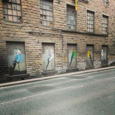 A Banksy in Hebden Bridge, West Yorkshire?