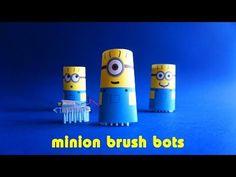 Minion Brush Bots - Left Brain Craft Brain