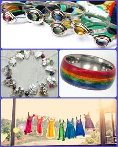 Eco-Friendly Rainbow Wedding Details | Green Bride Guide