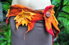 Your place to buy and sell all things handmade Faerie Costume, Dedicated Follower Of Fashion, Autumn Fairy, Fairy Clothes, Happy Hippie, Skirt Belt, Sewing A Button, Felt Art, Beautiful Outfits
