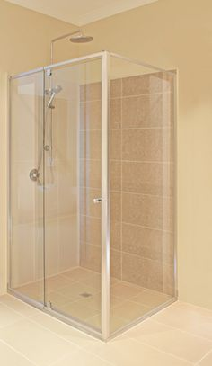 Semi Frameless Shower Screens Melbourne - Executive Front and Return
