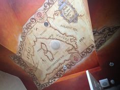 my first ceiling mural Ceiling Murals, Ceiling Ideas, Adriatic Sea, Corsica, Sicily, Naples, Tuscany, Rome, Fancy