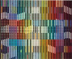 View From Birth to Eternity. By Yaacov Agam; Oil on angled aluminum on wood; 2 x inches; 82 x 93 cm. Access more artwork lots and estimated & realized auction prices on MutualArt. Yaacov Agam, Kinetic Art, Global Art, Modern Colors, Op Art, Art Market, Contemporary Artists, Auction, Colours