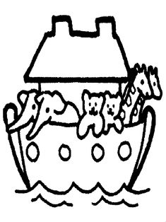 Find This Pin And More On Decoration Free Noahs Ark Coloring Pages