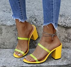 Women Pumps Chunky High Heels Summer Sandals Slippers Shoes - Occasion: Dress, Party, Club, Wedding, Office, Work, School, Casual. #chunkyheels #sandalssummer #sandalsoutfit #sandalsheels #heels #heelsclassy #heelswithjeans #heelsprom #icuteshoes #blockheelsoutfit #blockheelsoutfitjeans #blockheelsoutfitjeansstreetfashion #heelsclassyelegant #heelsclassyelegantoutfit #heelsoutfits #heelsoutfitscasual #heelswithjeansoutfit Block Heels Outfit, Casual Heels Outfit, Heels Outfits, Sandals Outfit, Aesthetic Shoes, Chunky High Heels, Women's Pumps, Slippers, Summer Sandals