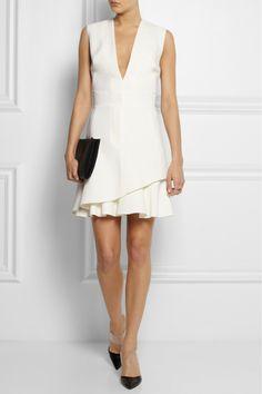 Victoria Beckham Silk and wool-blend mini dress $2000 at NET-A-PORTER.COM