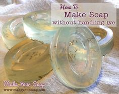 Want to make your own soap without handling Lye? Learn more about maki… Would you like to make your own soap without using lye? For more information about making soap without lye, see this step-by-step tutorial. Diy Soap Recipe Without Lye, Diy Soap Bars Without Lye, Home Made Soap Without Lye, Making Soap Without Lye, Homemade Soap Recipes, Homemade Gifts, Easy Recipes, Lye Soap, Glycerin Soap
