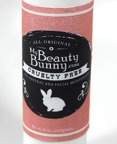 NEW! All-Original My Beauty Bunny Cruelty-Free All-Natural AHA Facial Moisturizer – Via @MyBeautyBunny Jen #vegan #crueltyfree   MyBeautyBunny's All-Original Cruelty-Free All-Natural AHA Moisturizer is now available for purchase! http://mybeautybunny.myshopify.com/products/mybeautybunny-all-original-my-beauty-bunny-cruelty-free-all-natural-aha-moisturizer