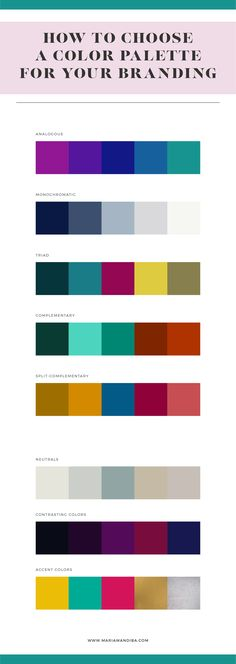 Color is a huge part of building a successful brand and most times, it's used in the wrong way. But these five rules are here to guide you in choosing the perfect palette for you. Branding design, brand, design, blog, blogger, graphic design, web, color palette, palette, designer.