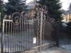 Iron Gates | Custom Wrought Iron Design and Fabrication