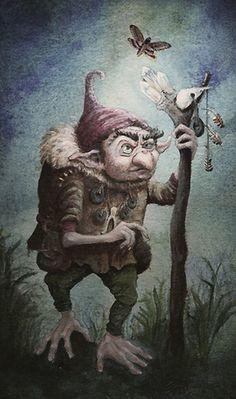 tulpastudios | ILLUSTRATION | Grimm Troll
