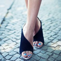 Heels by Zara.......edgy.