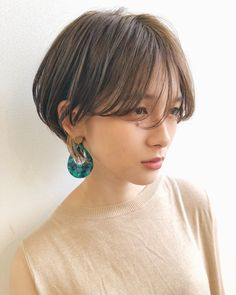 27 Angled Bob Hairstyles Trending Right Right Now for 2019 - Style My Hairs Line Bob Haircut, Bob Haircut With Bangs, Pixie Haircut, Hairstyles With Bangs, Girl Hairstyles, Cute Bob Haircuts, Stacked Haircuts, Girl Haircuts, Trending Hairstyles