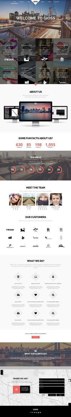 Gioss-HTML5-Template-Preview