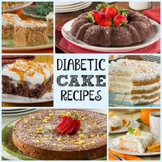 The Big Diabetes Lie Recipes-Diet - 10 Diabetic Cake Recipes: Healthy Cake Recipes for Every Occasion Diabetic Cake Recipes, Diabetic Snacks, Healthy Snacks For Diabetics, Healthy Recipes, Desserts For Diabetics, Baking For Diabetics, Diabetic Cheesecake, Healthy Breakfasts, Recipes