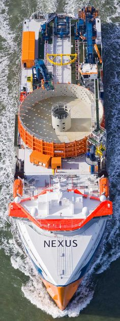 Van Oord Christens Nexus, First Offshore Wind Cable Layer [IMAGES]