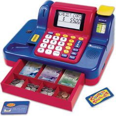 Teaching Cash Register with Canadian Currency - Shopping Sets - Imaginative & Role Play - Shop by Category - Parents - Learning Resources®