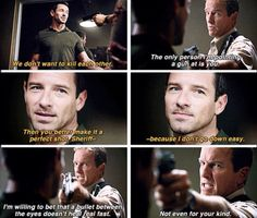 Teen Wolf 4x10 Peter and the sheriff