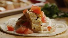 Grilled Fish Tacos with Chipotle Lime Dressing Video