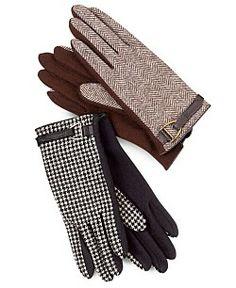 Lauren Ralph Lauren Gloves, Menswear D-Ring Trim