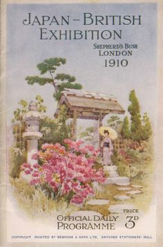 Official daily programme for the Japan (Japanese) British Exhibition 1910