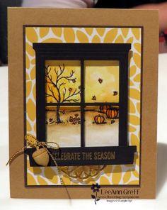 Happy Scenes fall card