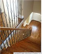 stair case idea for railing - Darling Stuff
