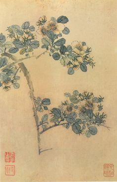Yun Shouping (恽寿平) ,  花卉册