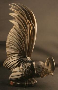 Lalique Car Mascot Coq Nain