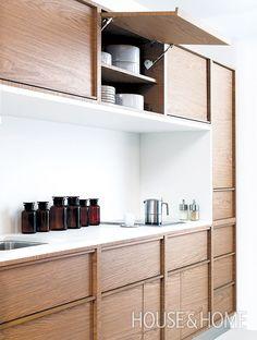 Edged Cabinetry.   Photo Courtesy of Nilus Designs  Designer:   Nilus Designs