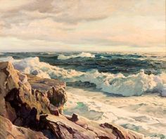 Landscape by Frederick Judd Waugh
