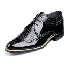 Mens Black Dress shoes Stacy Adams Dayton Wing Tip Oxford Leather Tuxedo 00605 Me Too Shoes, Men's Shoes, Shoe Boots, Sharp Dressed Man, Well Dressed Men, Black Dress Shoes, Mens Fashion Shoes, Dress Fashion, Formal Shoes