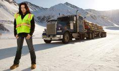 maya  ice road trucker